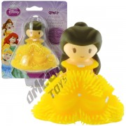Mini Boneca de Borracha com Luz Bela ´A Bela e a Fera´ Princesas Disney - Toyng