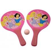 Raquetes de Madeira com Bolinha Princesas Disney