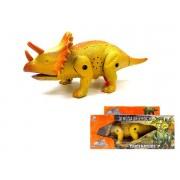 Dinossauro com Som Luz e Movimento Tricerátopo Pequeno