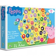 Jogo de Associação e Agilidade Já Achei Peppa Pig - Toyster