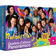 Quebra Cabeça Panorâmico Chiquititas 250 Peças - Toyster