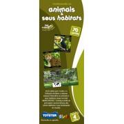 Conhecendo os Animais e seus Habitats Cards - Toyster