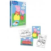 Quebra Cabeça para Pintar Peppa Pig - Toyster