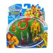 Coleção Bonecos Cleiton Tarzan Disney Heroes - Famosa