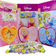 Adesivos Importados Mais Porta Adesivos Princesas Disney 300 Unid