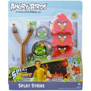 Angry Birds Estilingue Placa Alvo 8 Adesivos Splat Strike
