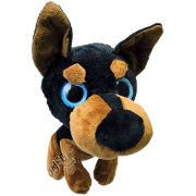 Bicho de Pelúcia Importada Cachorro Filhote Rottweiler