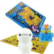Big Hero Baymax E Fred Disney Gogos + Quebra-cabeça + Cromos