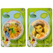 Coleção com 2 Bolinhas Pula Pula Tinker Bell e Rosetta Fadas Disney