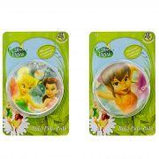 Coleção com 2 Bolinhas Pula Pula Tinker Bell e Faw Fadas Disney