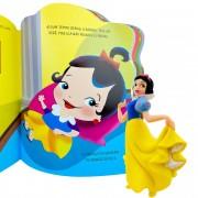 Boneca Branca de Neve com Livro de História Clássicos Disney