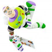 Boneco de Pelúcias Toy Story Buzz Lightyear 32 cm + Adesivo