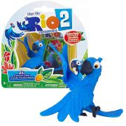 Boneco Rio 2 Sunny Miniatura Blu Com Adesivo