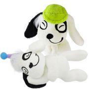 Coleção 2 Bonecos De Pelúcia Cachorro Doki Discovery Kids