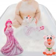 Brinquedo De Banho de Inflar Ariel + Boneco Vinil Porquinho