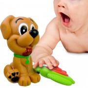 Brinquedo De Vinil Mordedores Para Bebê - Os Cachorrinhos
