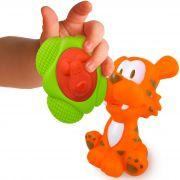 Brinquedo de Vinil Tigre e Mordedor Para Bebê Toyster