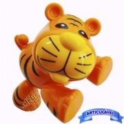 Brinquedo para Bebê Tigre Articulado Minha Primeira Coleção Mini Animais - CKS