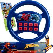 Brinquedo para Bebê Volante Infantil Musical Homem Aranha