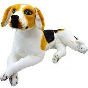 Cachorro de Pelúcia Beagle Filhote Grande 56 cm
