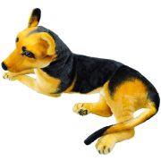 Cachorro de Pelúcia Pastor Alemão 61 cm Comprimento
