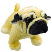 Cachorro de Pelúcia Pug Importado Cachorrinho Realista