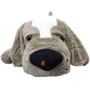 Cachorro de Pelúcia Sonoro Grande com Joaninha 50 cm