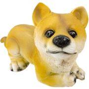 Cachorro Importado em Resina Enfeite Ornamental