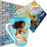 Caneca Plástica Mais Dominó Cartonado Moana Disney