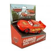 Carrinho Rodas Livres Relâmpago McQueen Carros 3 Disney - Toyng