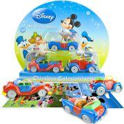 Coleção 3 Carrinhos Mickey Donald E Tio Patinhas Diecast Yellow