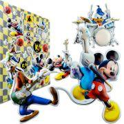 Cartela Com 22 Adesivos Mickey Em Alto-relevo