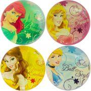 Coleção 4 Bolinhas de Silicone Importadas Princesas Disney