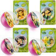 Coleção 4 Bolinhas Maciças Importadas Tinker Bell Fadas Disney