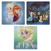 Coleção com 3 Quebra Cabeças Frozen Disney