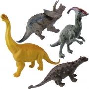 Coleção com 4 Mini Dinossauros Mundo Jurássico