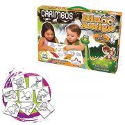 Coleção com 8 Carimbos Infantil Dino Amigo - Big Star