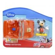 Coleção com Miniatura e Carrinho Mickey Disney - Toyng