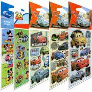 Coleção De Adesivos Clássicos Disney Mickey Toy Story Carros