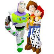 Coleção Pelúcia Toy Story Jessie Woody Buzz Disney Long Jump