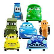 Combo 7 Sacolinhas Personagens Carros da Disney 7 sacolinhas 35 itens