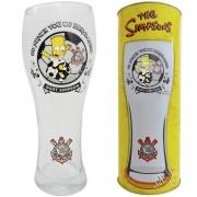 Copo de Cerveja Joinville Corinthians Bart Os Simpsons - Artebel