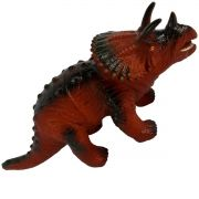 Dinossauro Emborrachado com Som Triceratops Animal Jurássico - Ark Toys