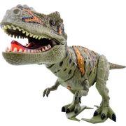 Dinossauro Tiranossauro Eletrônico Som Luzes Anda