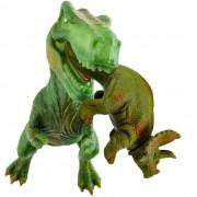 Dinossauro Triceratopes E Tiranossauro Rex Bonecos Jurássico