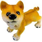 Estatua De Cachorro Em Resina A Enfeite Ornamental Importado