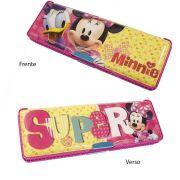 Estojo Infantil de Plástico com 2 Compartimentos Minnie Disney