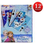 Festa Lembrancinha 12 unidades Mini Baralho Frozen Disney