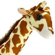Girafa Safari Bicho de Pelúcia Selvagem Grande