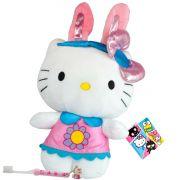 Hello Kitty Coelhinha Boneca De Pelúcia Sanrio Dtc Mais Escova